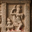 Bas reliefs in Hindue temple. Arunachaleswar Temple. - Stock Photo