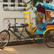 Royalty-Free Stock Photo: Bicycle rickshaw