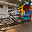 Bicycle rickshaw - Stock Photo