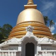 Buddhist dagoba (stupa) close up in Golden Temple — Stock Photo