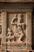 Bas reliefs in Hindue temple. Arunachaleswar Temple. — Stock Photo