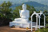 Sitting Budha image — Stock Photo