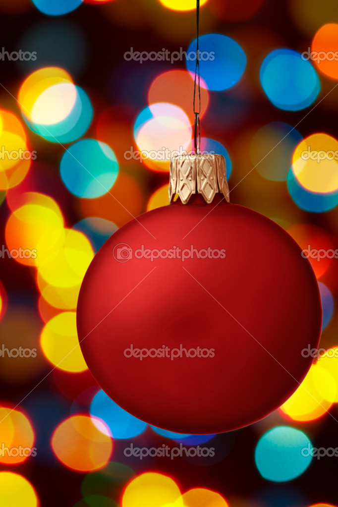 Christmas ornament — Stock Photo #4520786