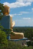Oro buddha — Foto de Stock
