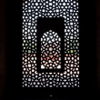 Royalty-Free Stock Photo: Marble carved screen window at Humayun\'s Tomb, Delhi