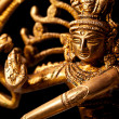 Statue of indian hindu god Shiva Nataraja - Lord of Dance — Photo