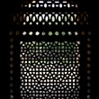 Marble carved screen window at Isa Khan's Tomb, Delhi, Delhi — Stock Photo