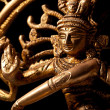 Statue of indian hindu god Shiva Nataraja - Lord of Dance - Stock Photo
