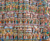 Hindu temple tower — Stock Photo