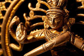 Statue of indian hindu god Shiva Nataraja - Lord of Dance — Stock Photo