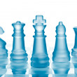 Glass chess — Stock Photo #5217892