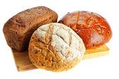 Biraz tür-in taze ekmek — Stok fotoğraf