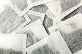 Square teabags — Stock Photo