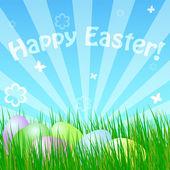 Spring easter card — Stock Vector