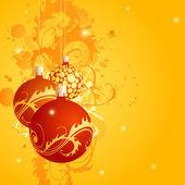 Złote karty świąteczne — Wektor stockowy