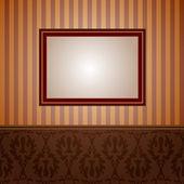 壁紙とフレーム — ストックベクタ