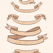 Royalty-Free Stock Imagen vectorial: Herald ribbon