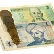 Tenge bill of Kazakhstan — Stock Photo