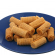 Wafer rolls — Stock Photo #4238770