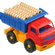 Sweets and the truck — Stock Photo