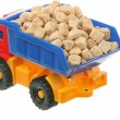 Sugar in the truck — Stock Photo