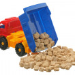 Sugar in the truck — Stock Photo #4343580
