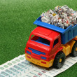 Garbage truck — Stock Photo #4415244