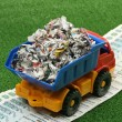 Garbage truck — Stock Photo #4415246