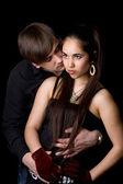 Couple d'amoureux — Photo