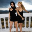 Two young women - Foto de Stock  