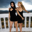 Two young women - 