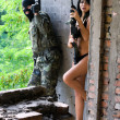 ������, ������: Soldier and naked woman