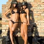 Two sexy women — Stock Photo