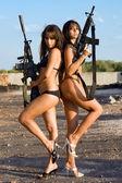 Sexy naked women — Stock Photo