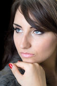 ładna kobieta — Zdjęcie stockowe