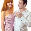 Royalty-Free Stock Photo: Woman and man