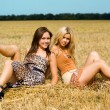 Two young women — Stock Photo #5195002