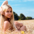 Beautiful blond — Stock Photo #5195014