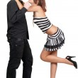 Sexy playful young couple — Stock Photo