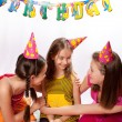 Royalty-Free Stock Photo: Funny birthday party