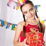 Birthday girl — Stock Photo