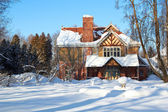 Cottage Winter Wonderland — Stock Photo