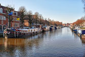 Belgium Canal — Stock Photo