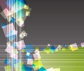 抽象透明卡 — 图库矢量图片