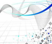 连接线路-抽象背景 — 图库矢量图片