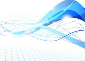 Flare futuristic background — Stock Vector