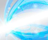 Hi-tech blue abstraction — Stock Vector