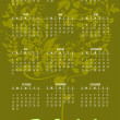 Calendar for 2011 — Stock Photo #4161782
