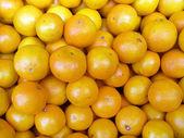 Tangerines background — Stock Photo