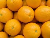 Fruit oranges background — Stock Photo